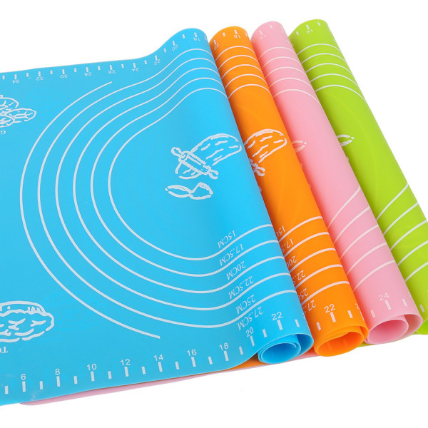 Силиконовый коврик для раскатки теста 65*45 см