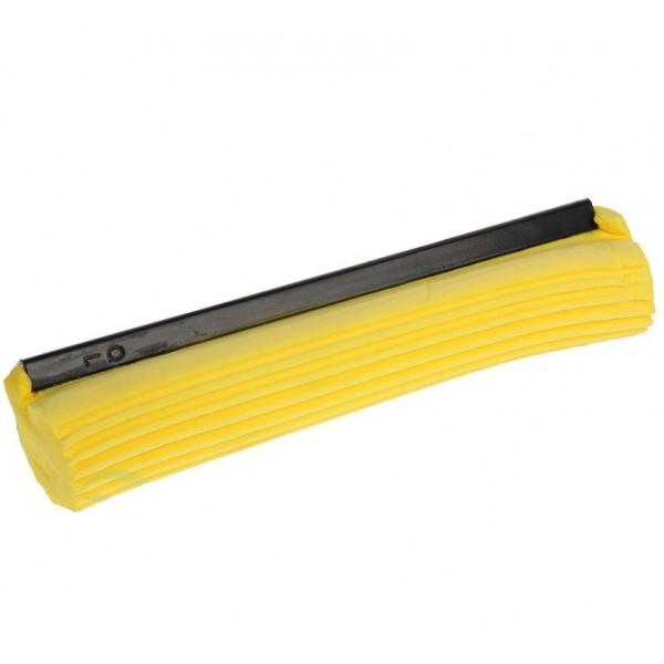 Насадка ПВА (губка) для швабры с роликовым отжимом (мягкая), желтая