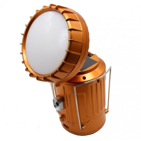 Фонарь складной светодиодный для кемпинга, 17 см