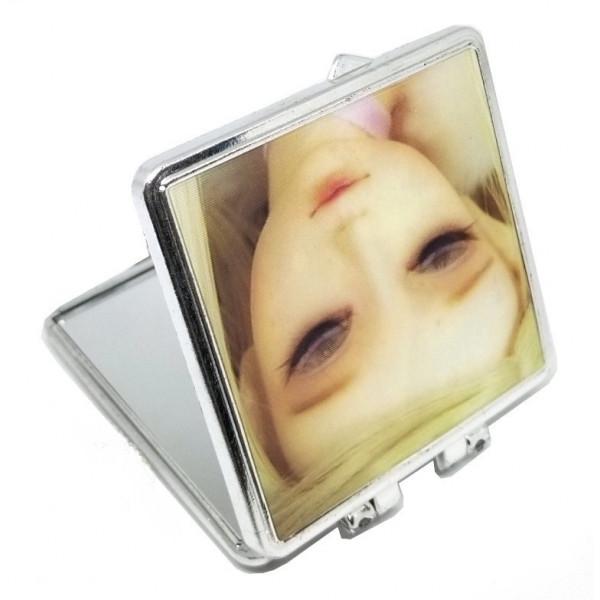 Зеркало подарочное 3D с лицами девочек, пластик