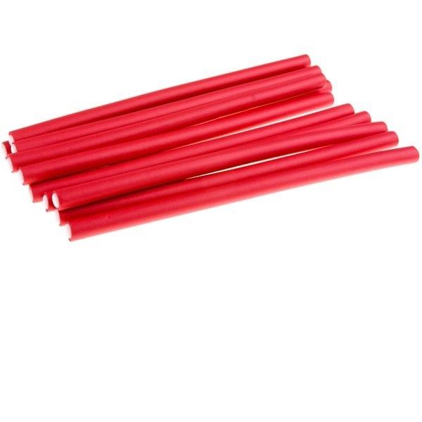 Бигуди бумиранги, красные
