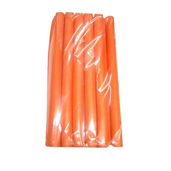 Бигуди бумиранги,  оранжевый