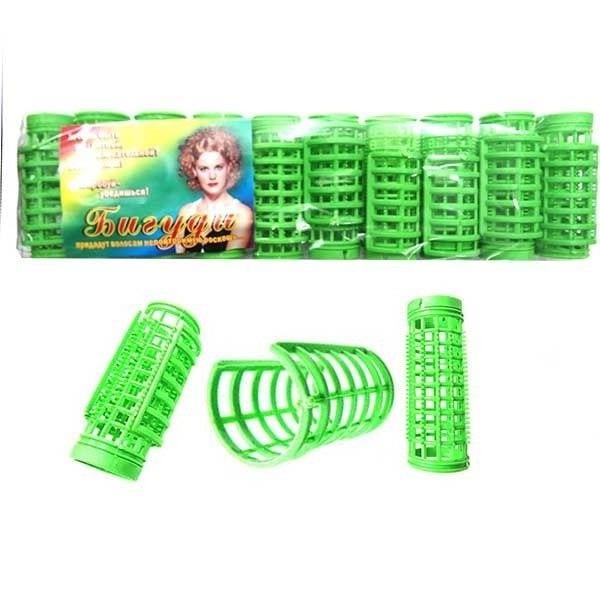 Бигуди пластмассовые с решеткой Ф 25