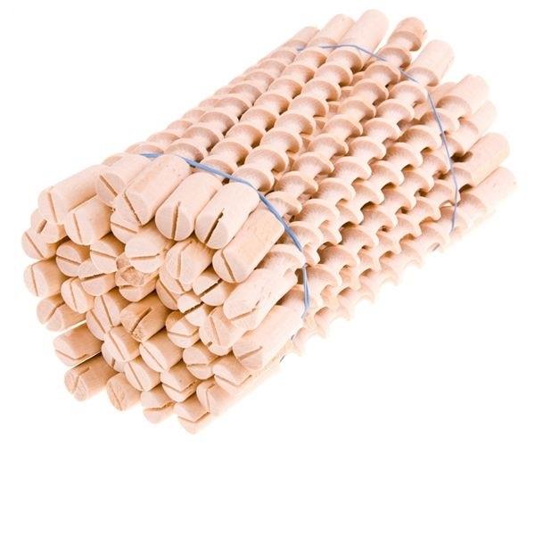 Спираль деревянный, Длина. 110 мм, Д. 10 мм