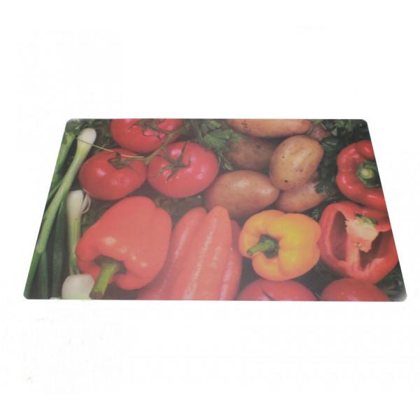 """Подставка под горячее """"Овощи"""", 3D, 44х28 см"""