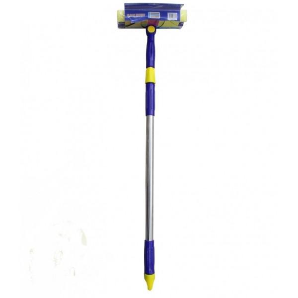 Окномойка поворотная, телескопическая ручка, 120х30 см
