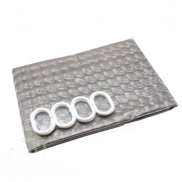 Шторы для ванной 3D, 180х180 см