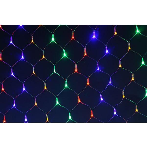 Гирлянда светодиодная сетка 1.5х3 м