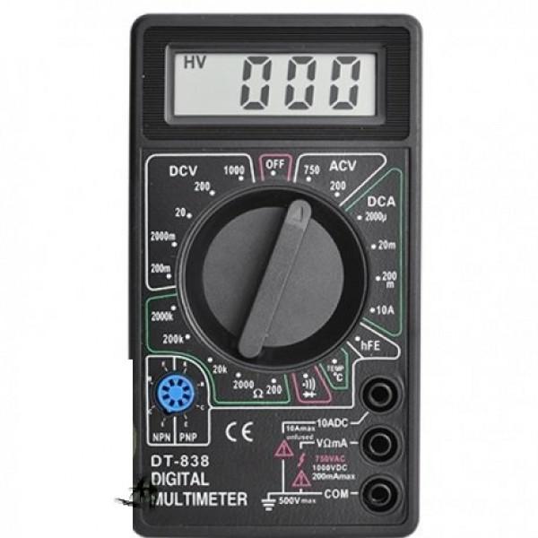 Мультиметр тестер, 838