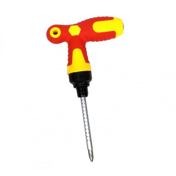 Отвертка с Т- образной ручкой с решеткой