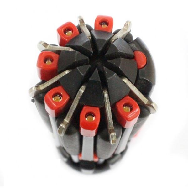 Отвертка с фонариком 8 в 1 (Отвертка QC178 scew+lamp), 6 светодиодов