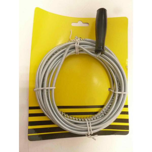 Трос для прочистки труб, 5 мм, 5 м