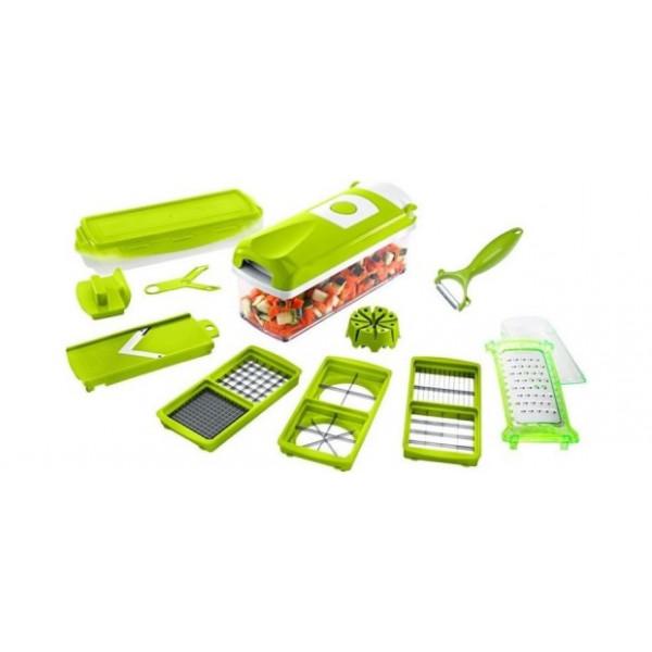 Овощерезка Найсер Дайсер Плюс (Nicer Dicer Plus) в зелёной упаковке