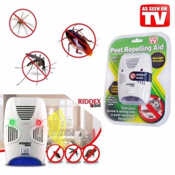 """Отпугиватель от насекомых и грызунов """"PEST REPELLING AID"""" RIDDEX, зеленый"""