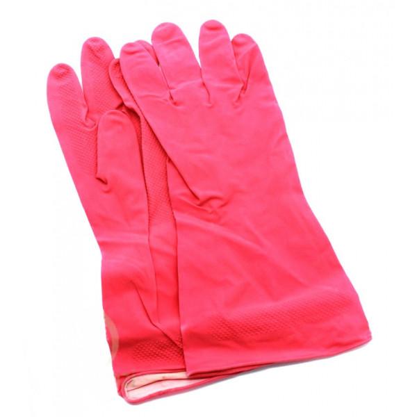 Перчатки хозяйственные, латексные 40г