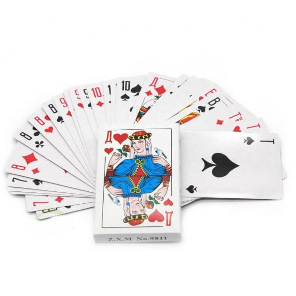 Карты игральные, бумажные, 36 шт.