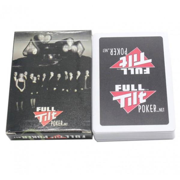 Карты для покера пластиковые, в коробке, 54 шт.