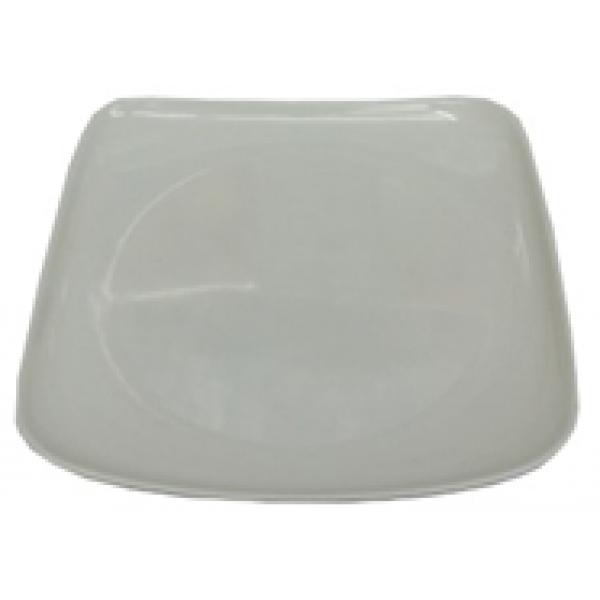 Тарелка квадратная меламин, 20х20 см